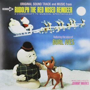 Rudolph The Red-Nosed Reindeer Vinyl Record Album